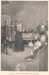 Salem Witch Trial Accusations - Witches before the magistrate