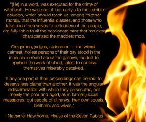 Hawthorne's Seven Gables